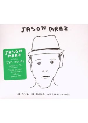 Jason Mraz - We Sing. We Dance. We Steal Things. (Music CD)