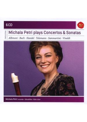 Michala Petri Plays Concertos & Sonata (Music CD)