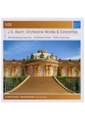 J.S. Bach: Orchestral Works & Concertos (Music CD)