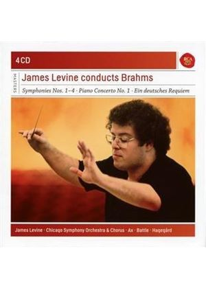 James Levine Conducts Brahms (Music CD)