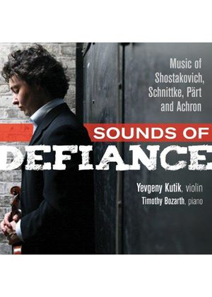 Sounds of Defiance: Music of Shostakovich, Schnittke, Pärt and Achron (Music CD)