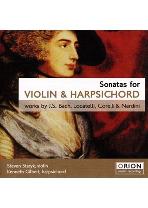 Bach/Locatelli/Corelli/Nardini - Sonatas For Violin And Harpsichord (Staryk, Gilbert)