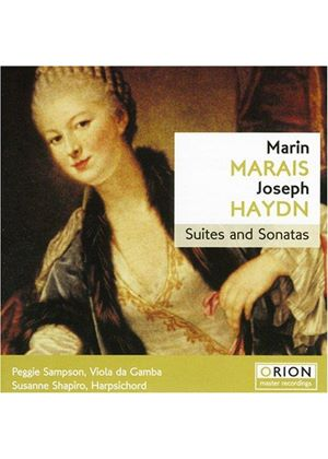 Marais/Haydn - Suites For Viola Da Gamba/Harpsichord Sonatas (Sampson)