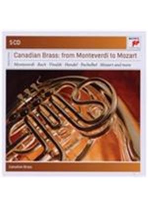 Canadian Brass: From Monteverdi to Mozart (Music CD)