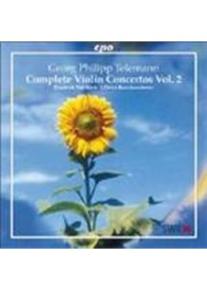 Georg Philipp Telemann - Complete Violin Concertos Vol. 2 (Wallfisch) (Music CD)