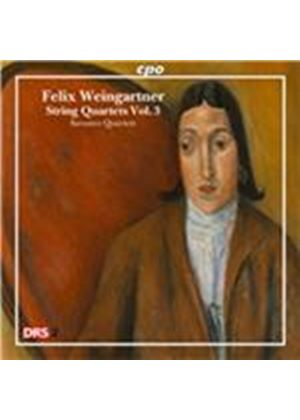 Felix Weingartner: String Quartets, Vol. 3 (Music CD)