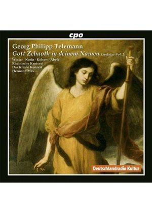 Telemann: Gott Zebaoth in deinem Namen: Kantaten Vol. 2 (Music CD)