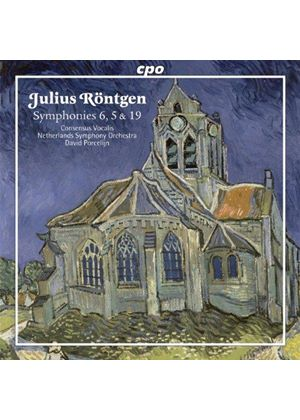 Julius Röntgen: Symphonies Nos. 6, 5, 19 (Music CD)