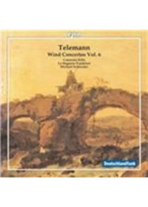 Telemann: Wind Concertos, Vol. 6 (Music CD)