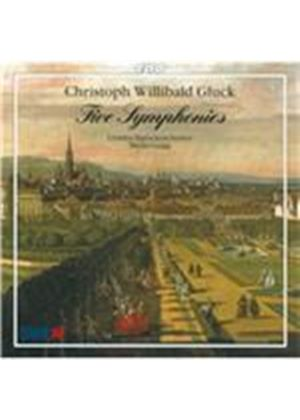 Christoph Willibald Gluck: Five Symphonies (Music CD)
