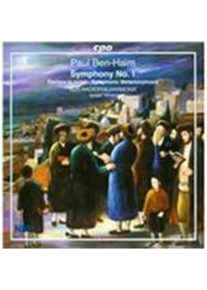 Paul Ben-Haim: Symphony No. 1 (Music CD)