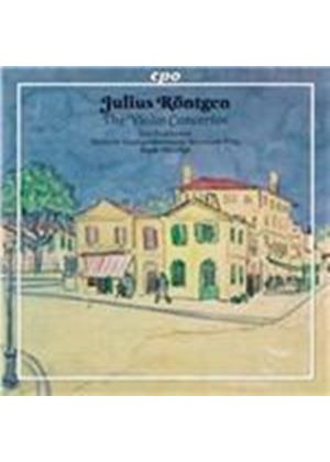 Julius R�ntgen: The Violin Concertos (Music CD)