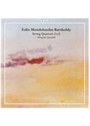 Mendelssohn Bartholdy: String Quartets Nos. 2 & 6 (Music CD)