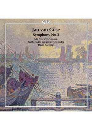 Jan van Glise: Symphony No. 3 (Music CD)