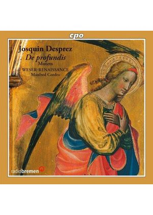 Josquin Desprez: De Profundis; Motets (Music CD)