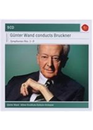Anton Bruckner: Symphonies 1-9 (Gunter Wand Collection) (Music CD)