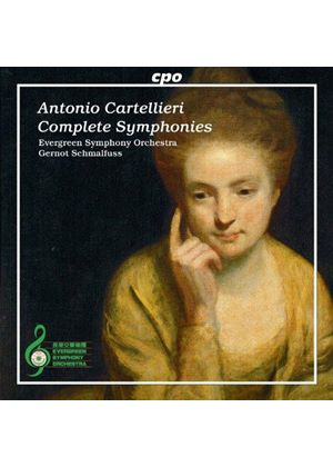 Antonio Cartellieri: Complete Symphonies (Music CD)