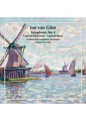 Jan van Gilse: Symphony No. 4 (Music CD)