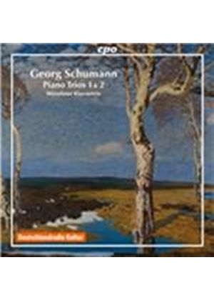 Georg Schumann: Piano Trios 1 & 2 (Music CD)
