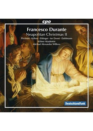 Francesco Durante: Neapolitan Christmas, Vol. 2 (Music CD)