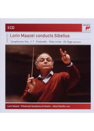 Lorin Maazel Conducts Sibelius (Music CD)