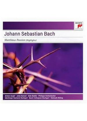 J.S. Bach: Matthaus-Passion BWV 244 (Music CD)