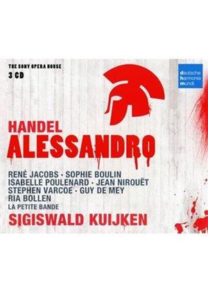 Haendel: Alessandro (Music CD)