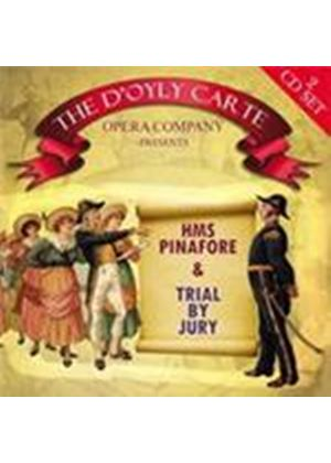 D'Oyly Carte Opera Company - HMS Pinafore (& Trial By Jury) (Music CD)