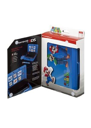 Nintendo Licensed Universal Character Hard Case Kit - Mario (Nintend 3DS/DSiXL/DSi/DS Lite)