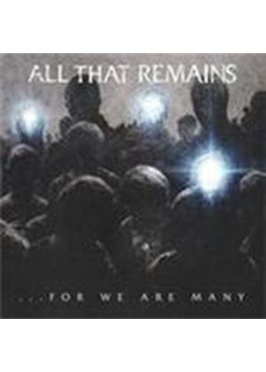 All That Remains - For We Are Many (Music CD)