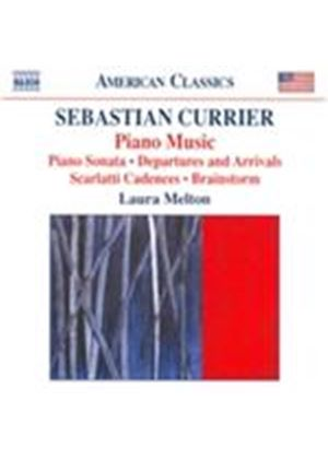 Sebastian Currier: Piano Music (Music CD)