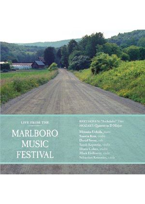 Live from the Marlboro Music Festival: Mozart, Beethoven, Schubert (Music CD)
