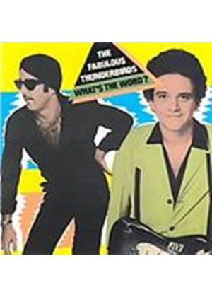 Fabulous Thunderbirds (The) - What's The Word (Music CD)