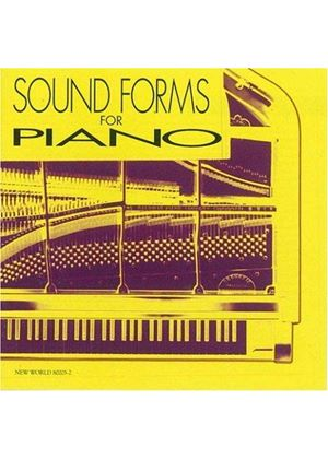 Cage/Cowell/Johnston/Nancarrow - Sound Forms For Piano (Miller)