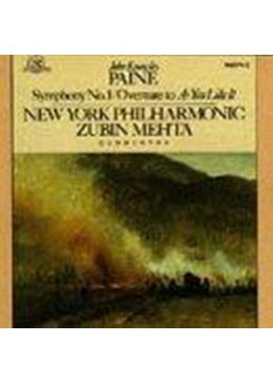 John Knowles Paine - Symphony No. 1, Overture To As You Like It (NYP, Zubin)