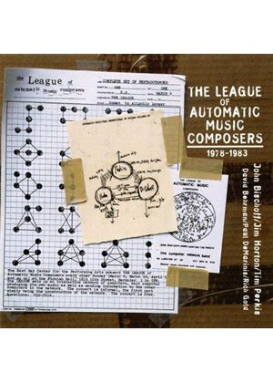 VARIOUS COMPOSERS - League Of Automatic Music Composers