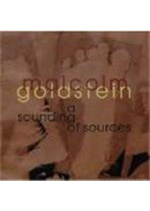 Malcolm Goldstein - A Sounding Of Sources