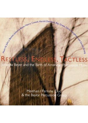 Restless, Endless, Tactless (Music CD)