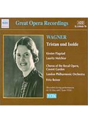 Richard Wagner - Tristan Und Isolde - Reiner (Fladstad) (Music CD)