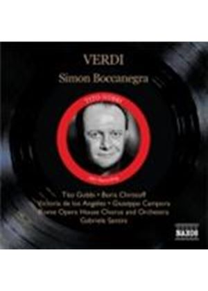 Verdi: Simon Boccanegra (Music CD)