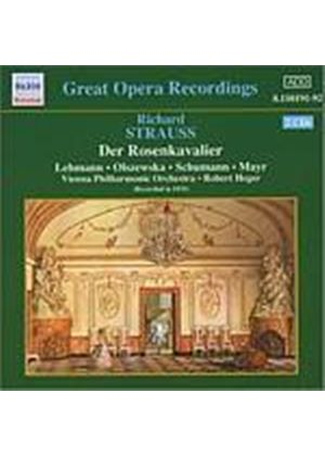 Richard Strauss - Der Rosenkavalier (Heger, Vpo) (Recorded In 1933) (Music CD)