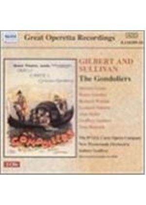 Gilbert And Sullivan - The Gondoliers (Godfrey, DOyly Carte Opera Company) (Music CD)