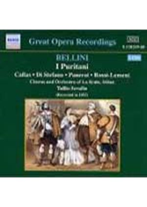 Vincenzo Bellini - I Puritani (Serafin, Chorus And Orchestra Of La Scala) (Music CD)