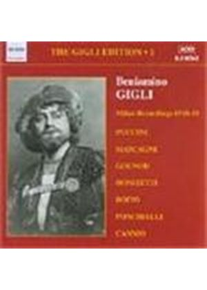 Great Singers - Beniamino Gigli Vol 1