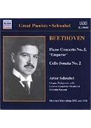 Beethoven: Piano Concerto No. 5; Cello Sonata No. 2, Op. 5