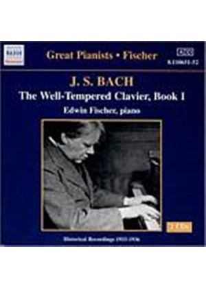 Johann Sebastian Bach - Well-Tempered Clavier Book 1 (Fischer) (Music CD)