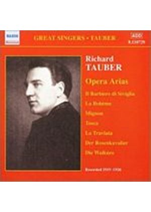 Richard Tauber - Opera Arias - Acoustic Recordings 1921 - 1925 (Music CD)