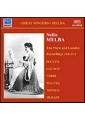Nellie Melba - The Paris And London Recordings 1908 - 1913 (Music CD)