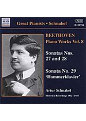 Ludwig Van Beethoven - Piano Works Vol. 8 (Schnabel) (Music CD)