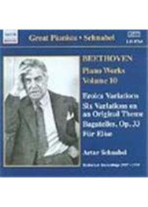 Beethoven: Piano Works, Vol 10